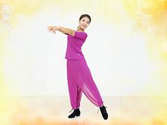 糖豆广场舞课堂《黄金一笑》编舞范范 附正背面口令分解教学演示