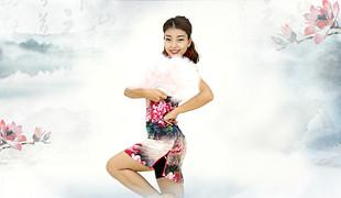 糖豆广场舞课堂《往事只能回味》编舞范范 附正背面口令分解教学演示