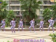 杨丽萍广场舞《各自安好》原创动感健身操 附正背面口令分解教学演示