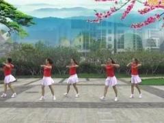 重庆叶子广场舞《等到山花开》原创舞蹈 附正背面口令分解教学演示