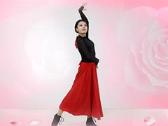 糖豆广场舞课堂《你是我的玫瑰花》编舞范范 附正背面口令分解教学演示