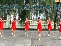 太湖一莲广场舞《歌唱祖国》原创舞蹈 附正背面口令分解教学演示