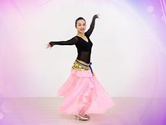 糖豆广场舞课堂《印度舞》编舞娜娜 附正背面口令分解教学演示