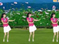 太湖一莲广场舞《金莲的爱》原创舞蹈 附正背面口令分解教学演示
