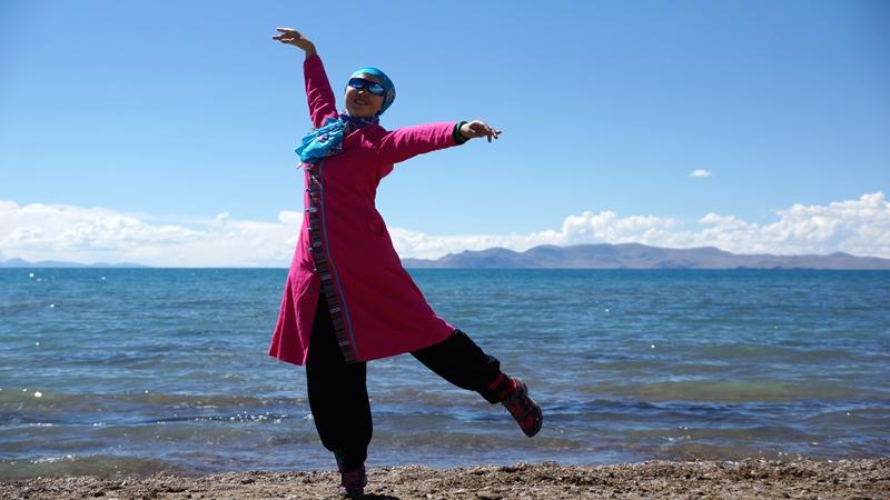 応子广场舞《西藏情歌》原创舞蹈 附正背面口令分解教学演示