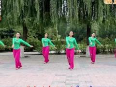 云裳馨悦广场舞《快乐我和你》原创简单健身舞 附正背面口令分解教学演示