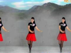 太湖一莲广场舞《北江美》原创舞蹈 附正背面口令分解教学演示