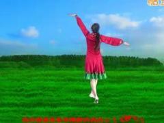 济南朵朵广场舞《歌在飞》原创舞蹈 附正背面口令分解教学演示