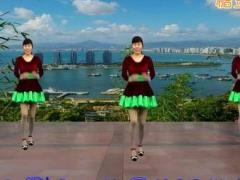 龙游红飞舞广场舞《但愿来生结成双》原创舞蹈 附正背面口令分解教学演示