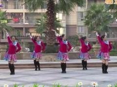 杨丽萍广场舞《三笑》原创恰恰风格舞蹈 附正背面口令分解教学演示