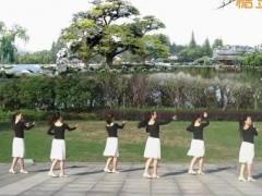 盛泽雨夜广场舞《希望今天遇见你》原创舞蹈 附正背面口令分解教学演示