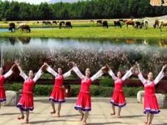 江西鄱阳春英广场舞《吉祥藏历年》原创舞蹈 附正背面口令分解教学演示