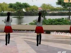 龙游红飞舞广场舞《不要停》原创大众健身操 附正背面口令分解教学演示