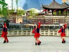 新风尚广场舞《歌在飞》原创双人舞 附正背面口令分解教学演示