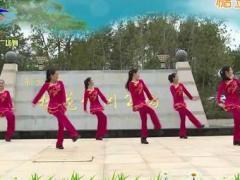杨丽萍广场舞《山里的妹子真漂亮》原创简单民族健身舞 附正背面口令分解教学演示