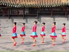 吉美广场舞《黑山姑娘唱山歌》原创舞蹈 附正背面口令分解教学演示