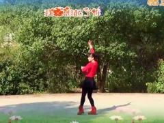 鄂州益馨广场舞《对着月亮说爱你》原创抒情32步舞 附正背面口令分解教学演示
