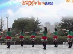 茉莉广场舞《爱如沙》原创简单健身舞 附正背面口令分解教学演示