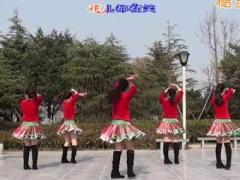 茉莉广场舞《金鸡报晓》原创舞蹈 附正背面口令分解教学演示