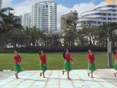 苏州盛泽雨夜广场舞《漂泊的玫瑰》原创舞蹈 附正背面口令分解教学演示