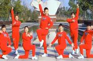 楠楠广场舞《奔跑吧兄弟》原创动感健身舞 附正背面口令分解教学演示