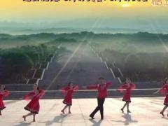 凤凰六哥广场舞《最美西藏》原创舞蹈 附正背面口令分解教学演示