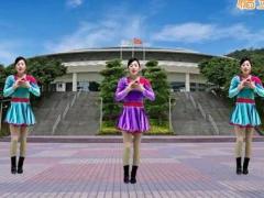 游城广场舞《爱一个人真的好累》原创舞蹈 附正背面口令分解教学演示