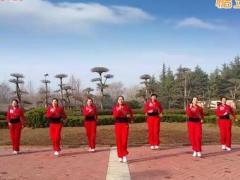 舞动旋律2007广场舞《就要你红》原创健身操 附正背面口令分解教学演示