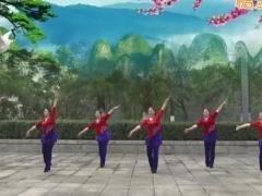 重庆叶子广场舞《在路上》原创健身舞 附正背面口令分解教学演示