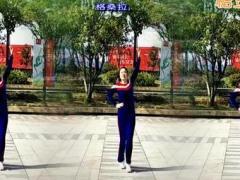 漓江飞舞广场舞《格桑拉》原创单人水兵舞 附正背面口令分解教学演示
