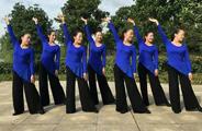 江西鄱阳春英广场舞《在世界之巅呼唤爱》原创舞蹈 附正背面口令分解教学演示