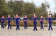 茉莉广场舞《中国小城美呀美》原创48步子舞 附正背面口令分解教学演示