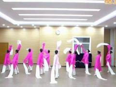 李琦广场舞《粉墨情缘》原创舞蹈 附正背面口令分解教学演示