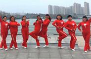 青儿广场舞《鸡年大吉咯咯哒》原创舞蹈 附正背面口令分解教学演示