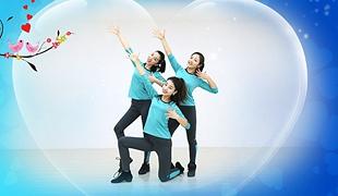糖豆广场舞课堂《爱情鸟》编舞范范 附正背面口令分解教学演示