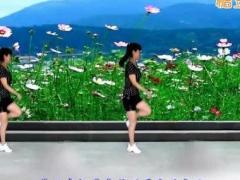太湖一莲广场舞《歌在飞》原创滑步舞 附正背面口令分解教学演示