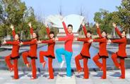 楠楠广场舞《情人靠不住》原创动感舞蹈 附正背面口令分解教学演示