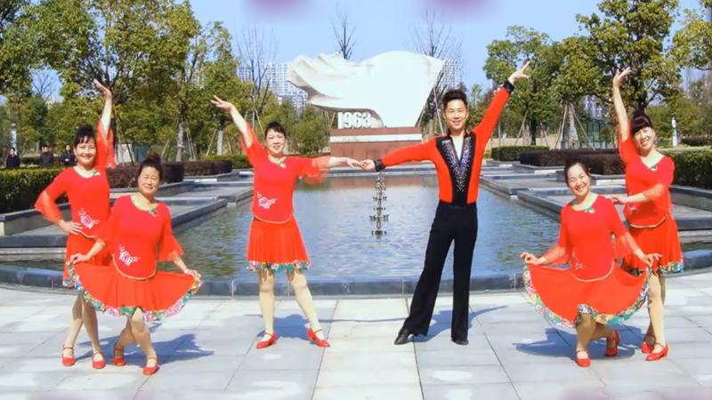 楠楠广场舞《元宵夜》原创双人对跳恰恰舞 附正背面口令分解教学演示