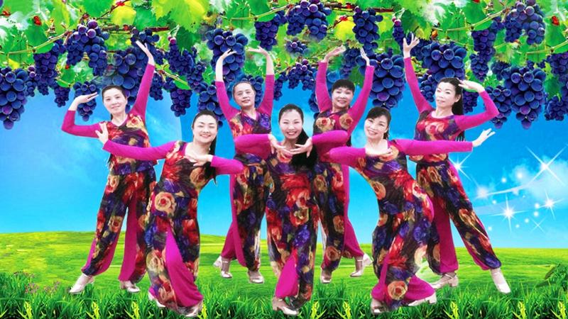 王梅广场舞《祖国万岁》原创舞蹈 附正背面口令分解教学演示