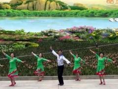 凤凰六哥广场舞《阿妹的情歌》原创舞蹈 附正背面口令分解教学演示
