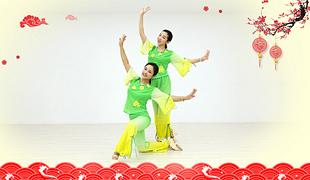 糖豆广场舞课堂《过河》编舞萱萱 附正背面口令分解教学演示
