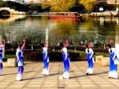 江西鄱阳春英广场舞《江南情》原创舞蹈 附正背面口令分解教学演示