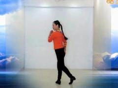 王梅广场舞《天边的巴拉格宗》编舞応春梅 附正背面口令分解教学演示