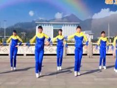吉美广场舞《动感节奏》原创活力操 附正背面口令分解教学演示