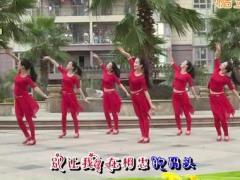 杨丽萍广场舞《只愿做你的新娘》原创大众韵律舞 附正背面口令分解教学演示