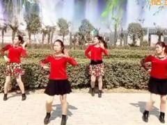 舞蝶广场舞《爱如星火》原创舞蹈 附正背面口令分解教学演示
