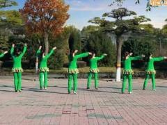 云裳广场舞《梦中的胡杨》原创舞蹈 附正背面口令分解教学演示