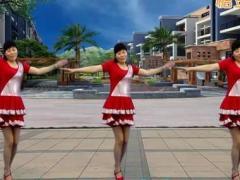 龙游红飞舞广场舞《走过咖啡屋》原创舞蹈 附正背面口令分解教学演示