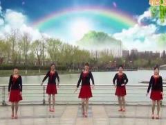 青儿广场舞《小目标》原创励志舞 附正背面口令分解教学演示