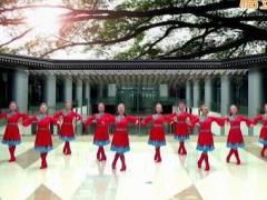 応子广场舞《故乡的歌谣》编舞応子 附正背面口令分解教学演示